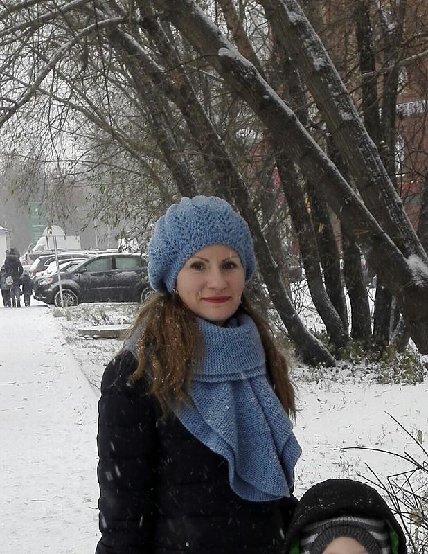 Комплект изберета ишарфа от VeraNikalaevna