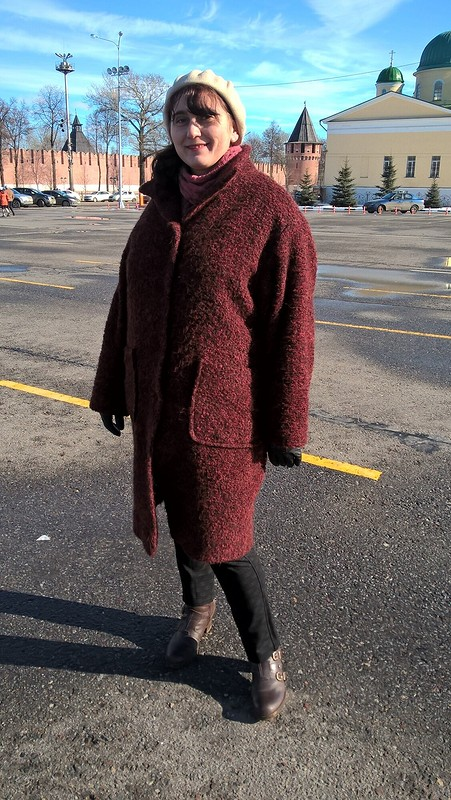 Пальто утепленное от janni