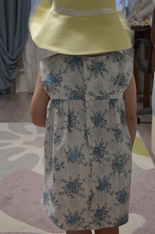 Хлопковое платье длядочурки