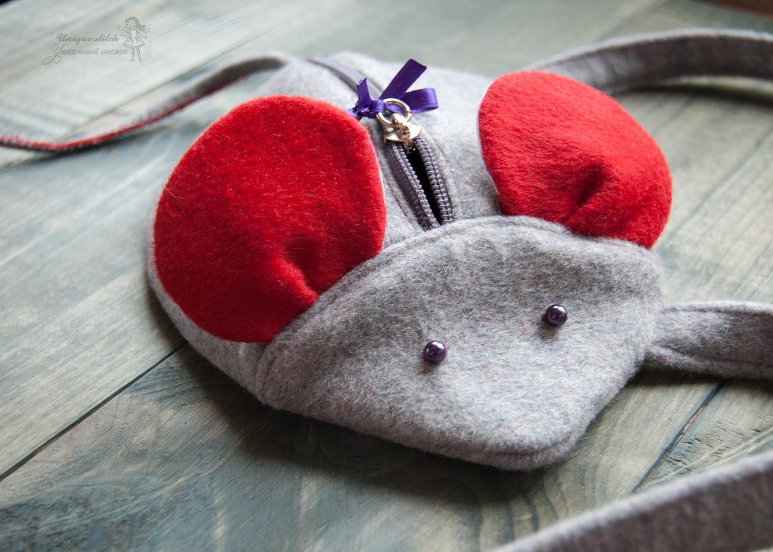 Сумочка-мышка