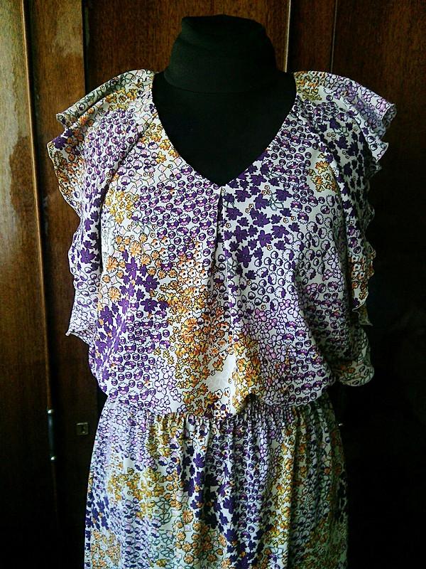 Платье своланами от Марина Море