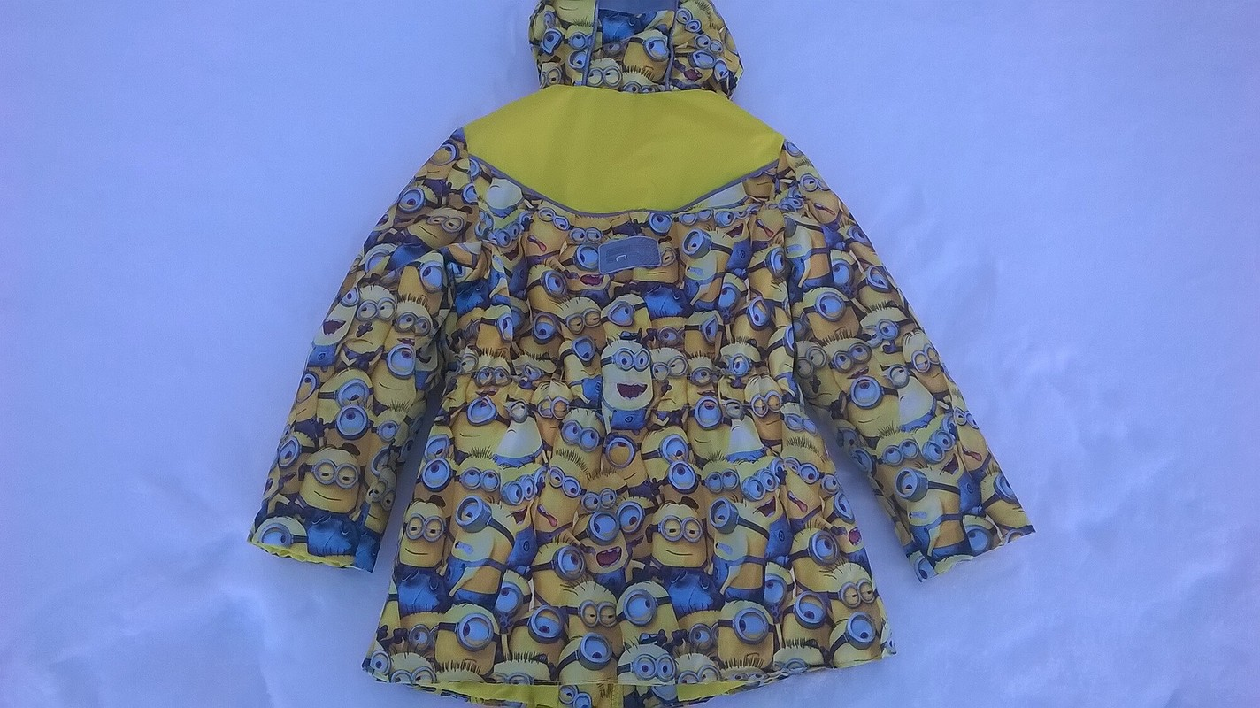 Куртка сминьонами