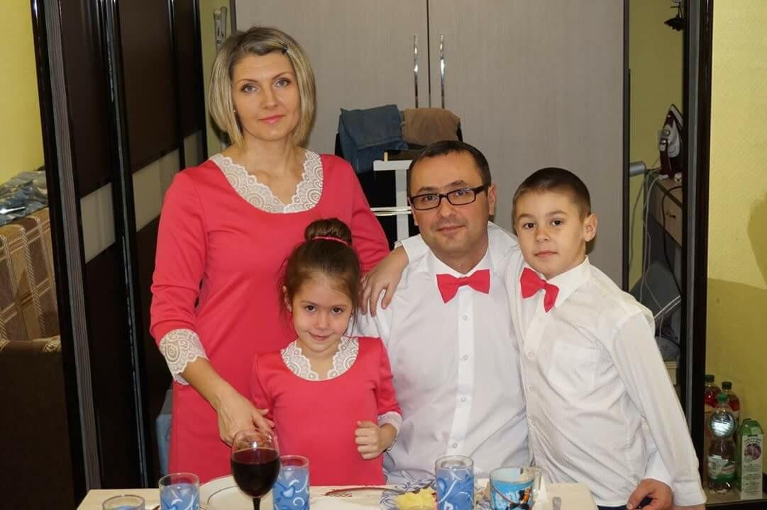 Наш семейный look