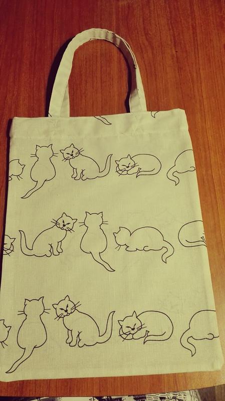 Экосумка «Кошки» от zoa