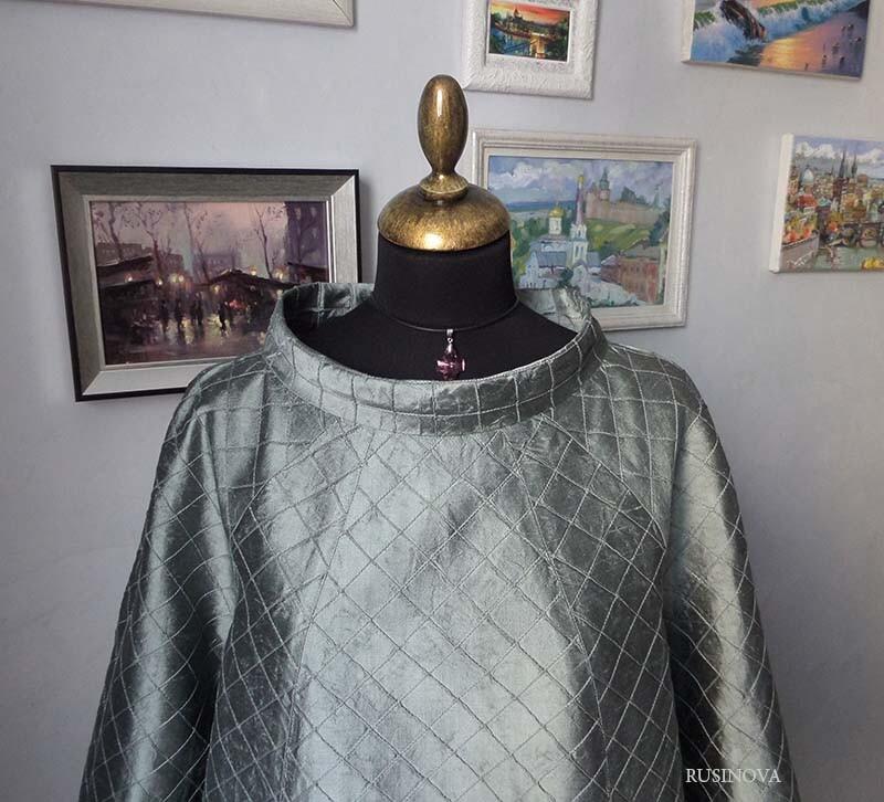 Платье шёлковое «Космос» от rusinova