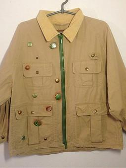 Работа с названием Реставрация куртки
