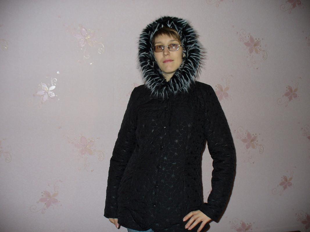 Чёрная куртка от TimAlena