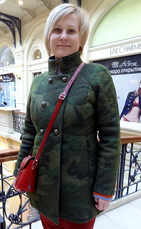 Почти идеальный хлястик от Оксана Георгиевна