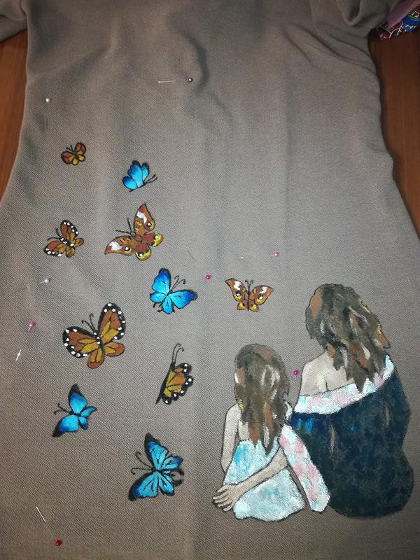 Бабочки вмоем животе