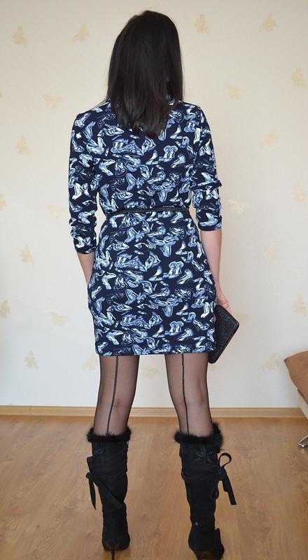 Платье стуфельками