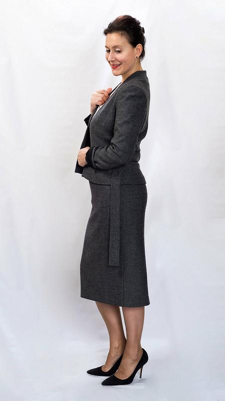 Жакет «в ёлочку» от politu