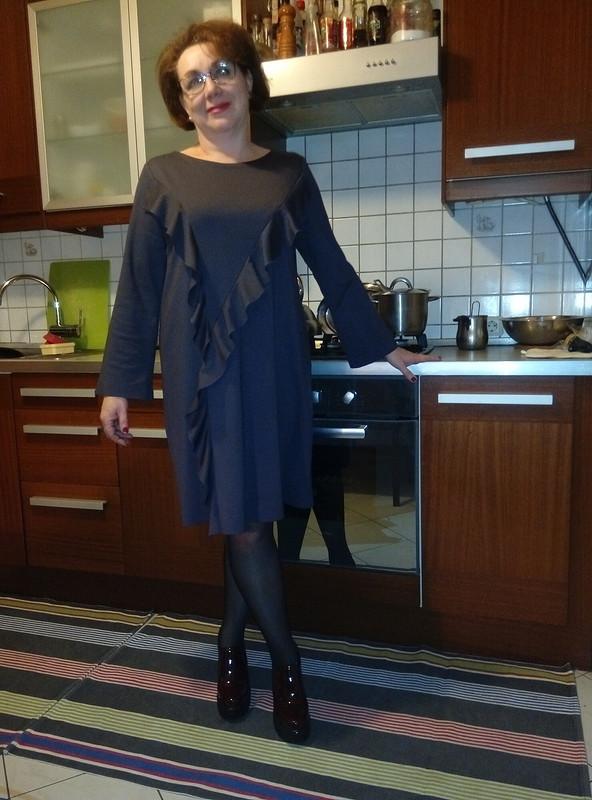 Мое платье своланами
