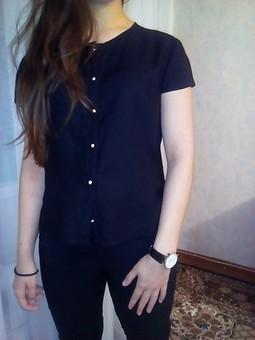 Работа с названием 3 блузы по одной выкройке