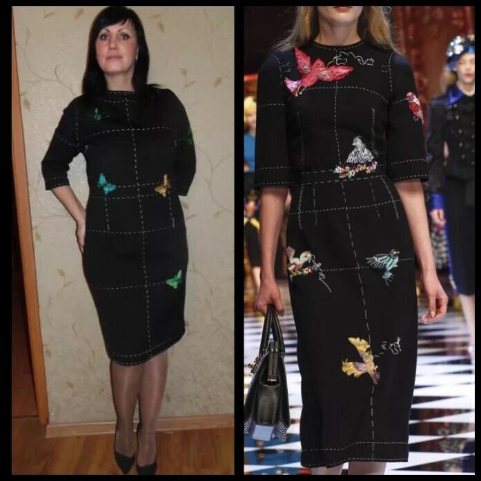 По мотивам Dolce & Gabbana