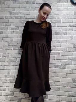 Работа с названием Весенне-осеннее платье