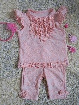 Работа с названием Летний костюмчик для дочки