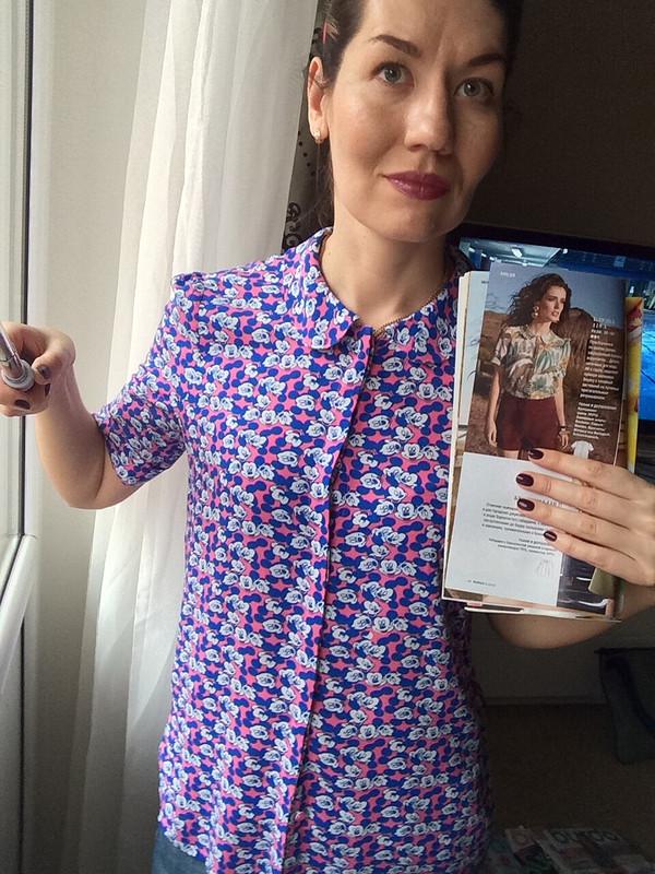 Блузка Микки от anna2020m
