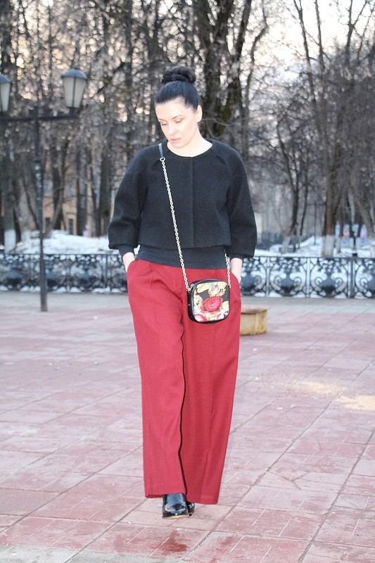 Широкие брюки от Танюшка Сергеевна