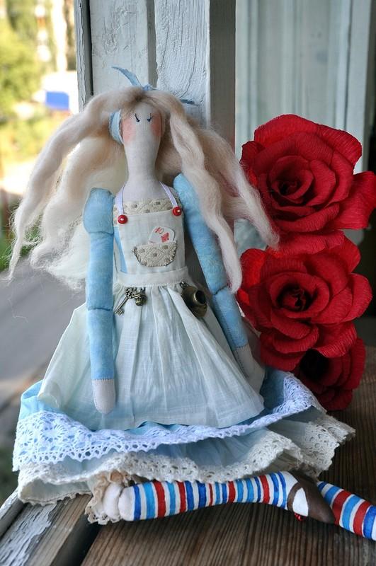 Алиса. Кукла встиле Тильда