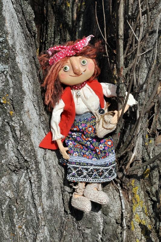 Бабулечка Ягулечка. Текстильная кукла от MymiMama