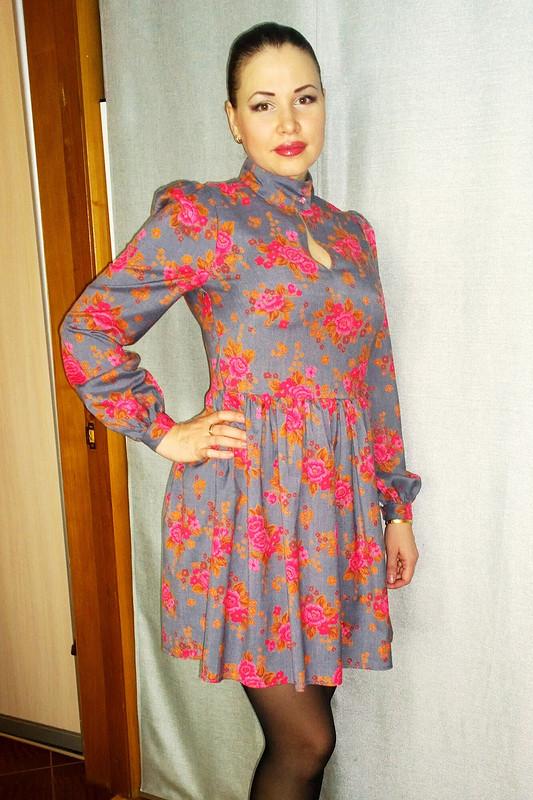 Винтажное  платьице от Elenka310601