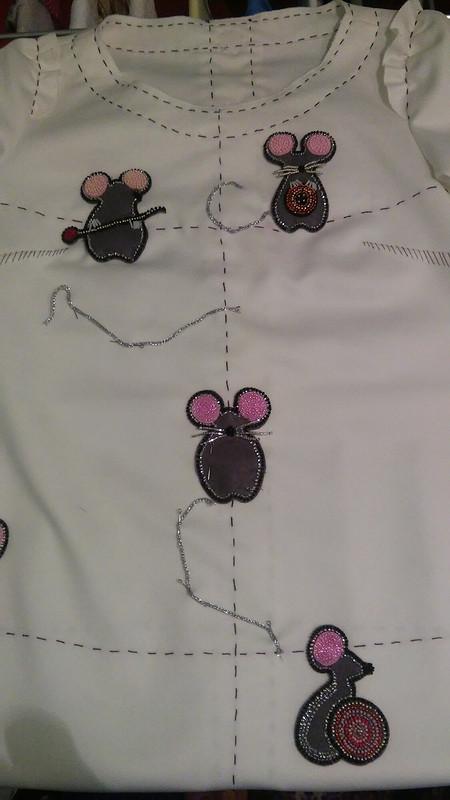 Мышки-рукодельницы от Ksushan