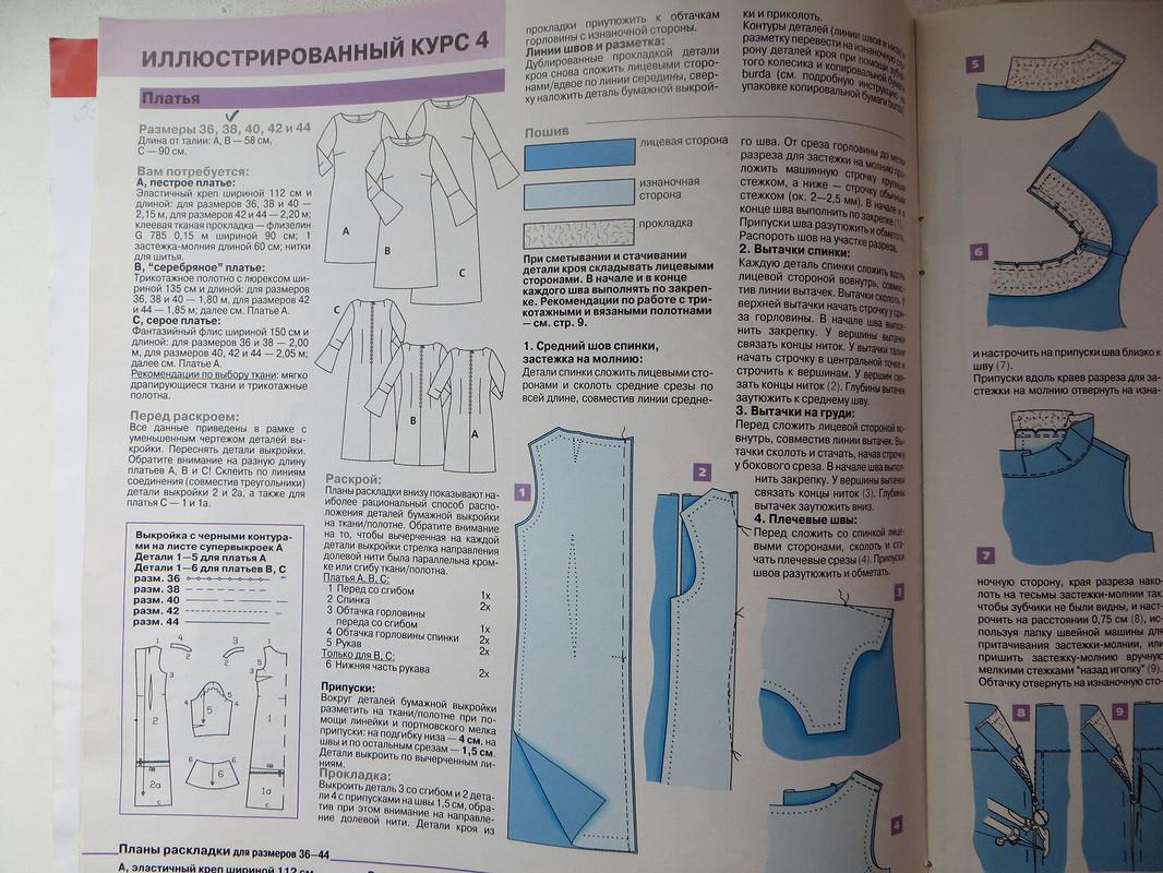 Юбилей Burda. Мод. 4В, БМ спец 1/2001 от  Галина Позднякова