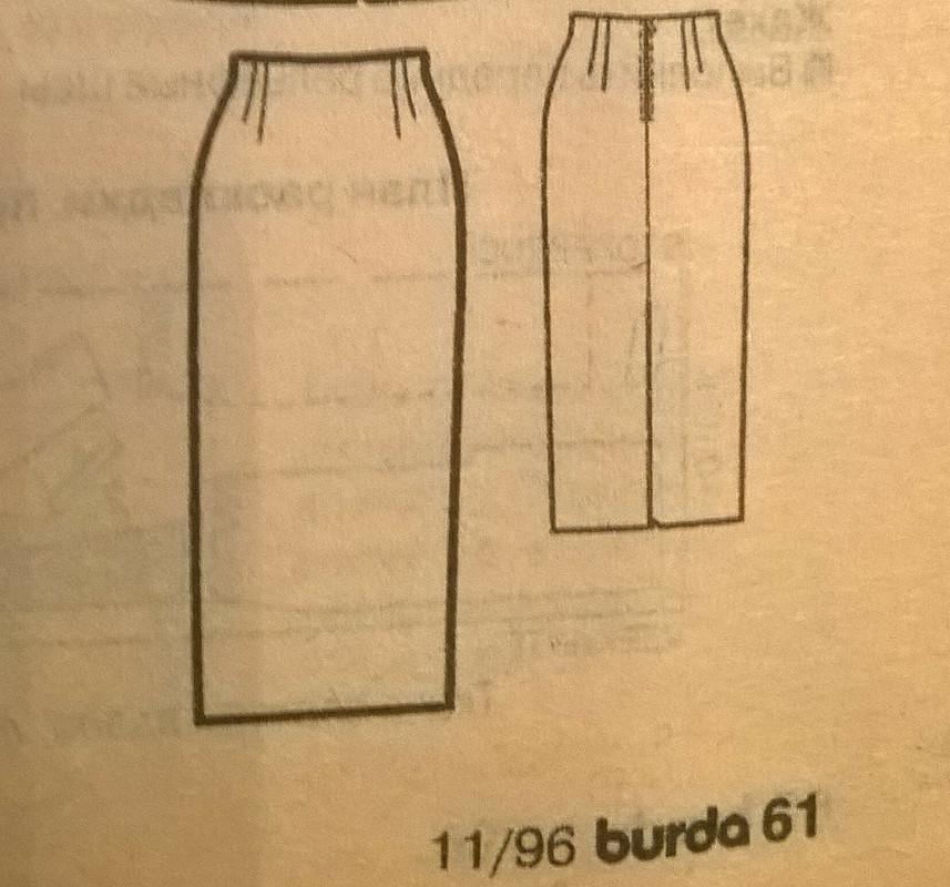 Юбилей Burda. Рабочий костюм от lenulick