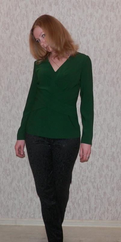 Изумрудная блуза от AnnWolf