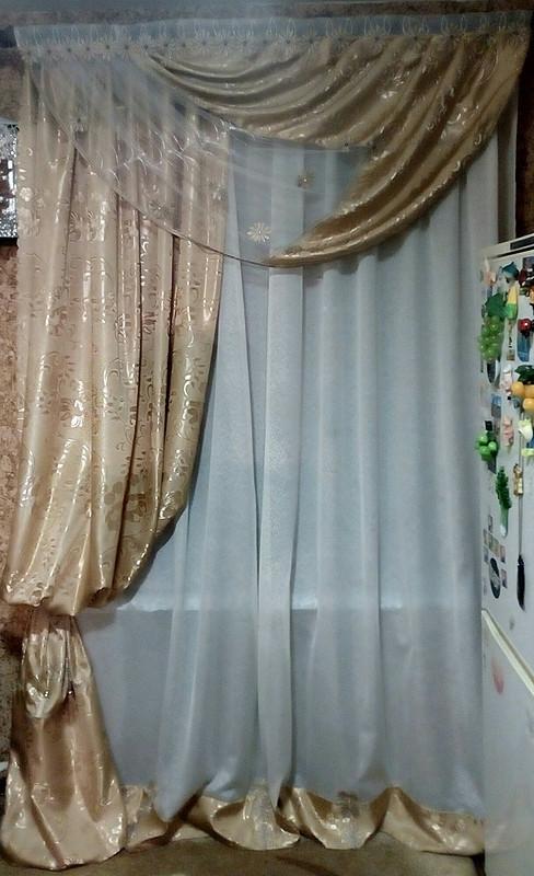 Новая жизнь старых штор от tatyana_mechta