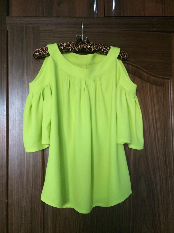 Яркая блуза от jamani