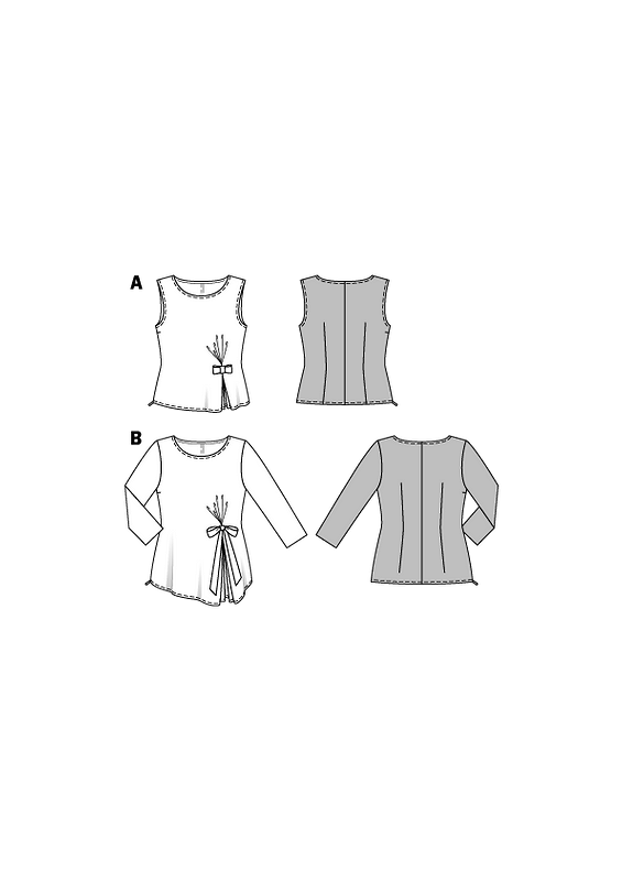 Блузка-топ сбантиком от lady_olya