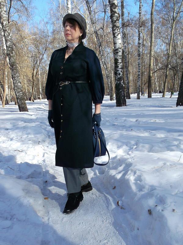 Платье-пальто, а может просто платье