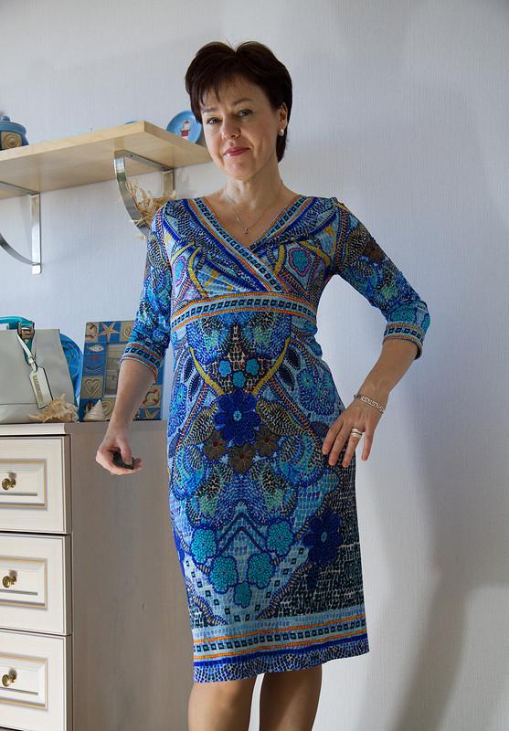 Моё маленькое «греческое» платье от flowers