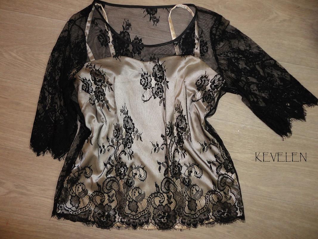 Топ+блузка