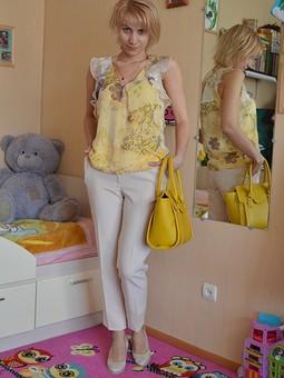 Работа с названием Летняя блузочка