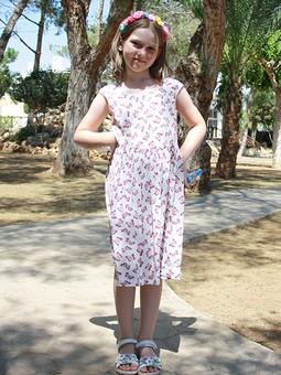 Работа с названием Платье летнее детское
