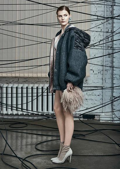 Русские сезоны: коллекция осень-зима 2017/2018 отALa Russe Anastasia Romantsova