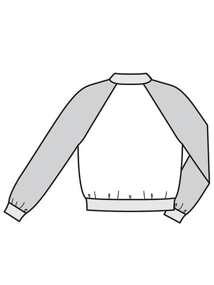 Как сшить блузон сдвубортной застёжкой