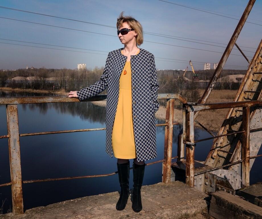 Платье сушками от Helenbrst