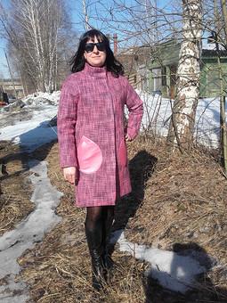 Работа с названием Моё любимое пальто