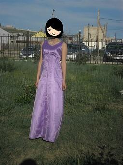Работа с названием Платье из органзы