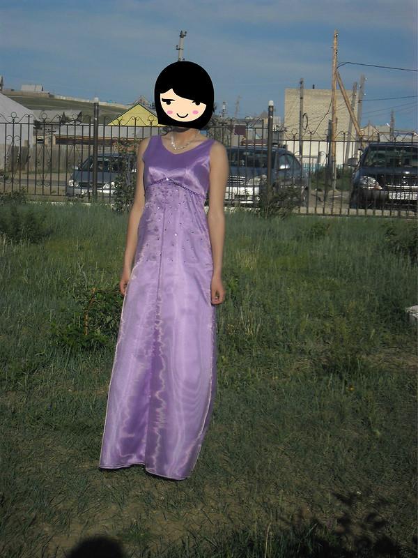 Платье изорганзы