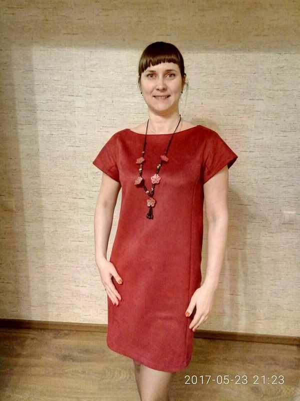 Платье О-силуэта от Katerina-tsar