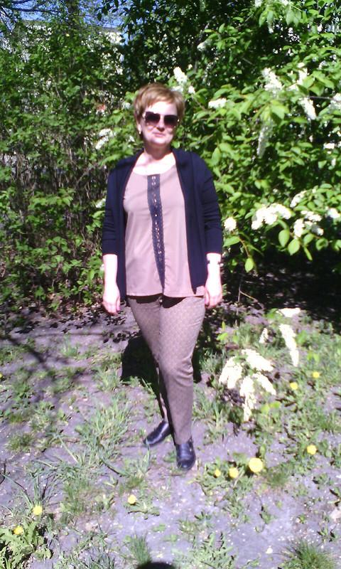 Вынужденная блузка