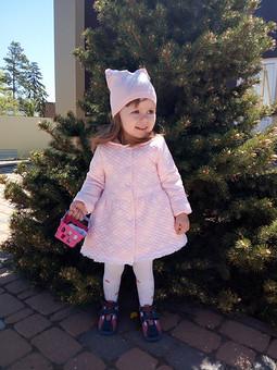 Работа с названием Летнее пальто для доченьки