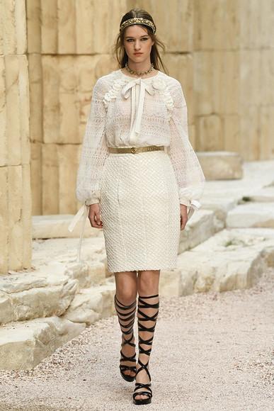 Древнегреческие мифы: коллекция Chanel Resort 2018