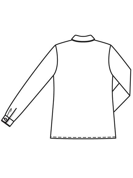 Как сшить блузку сконтрастным кантом