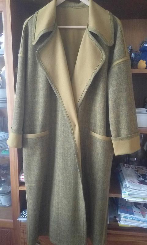 Двухсторннее Легкое пальто