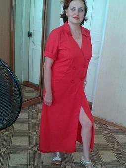 Работа с названием Платье рубашка